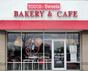 Touch of Sweets Bakery Storefront in Lake Zurich